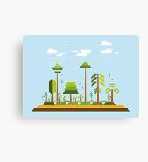 Trees Environment Canvas Print