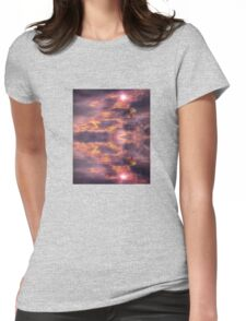 Peaceful  Womens Fitted T-Shirt