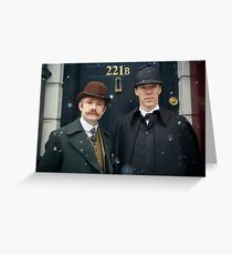 Sherlock Greeting Card