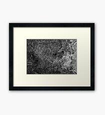 Noise Framed Print