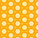 Happy Yellow Pattern by Sarah Butcher