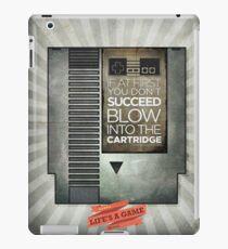 Blow the cartridge iPad Case/Skin