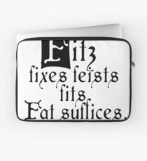 The Fitz and The Fool (Fool) Laptop Sleeve