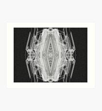 Squared Spider Art Print