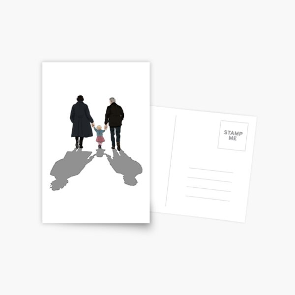 The Final Problem Johnlock Postcard