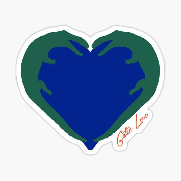 Gator Love Sticker