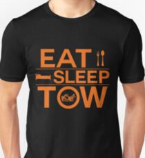 Eat Sleep Tow Funny Tow Truck Driver Tee Shirt Unisex T-Shirt