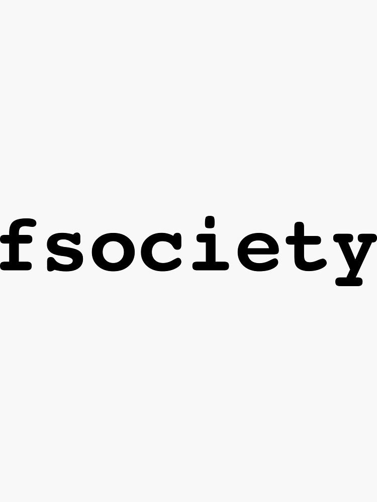 fsociety by devtee