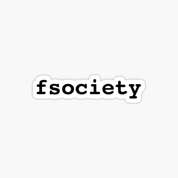 fsociety Sticker