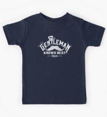 The Gentleman Knows Best Kids Tee