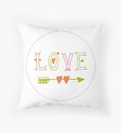 Valentine's Day | Love Throw Pillow