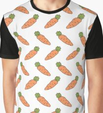 carrot doodle pattern Graphic T-Shirt