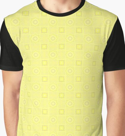 Pale Yellow Design by Julie Evehart Graphic T-Shirt