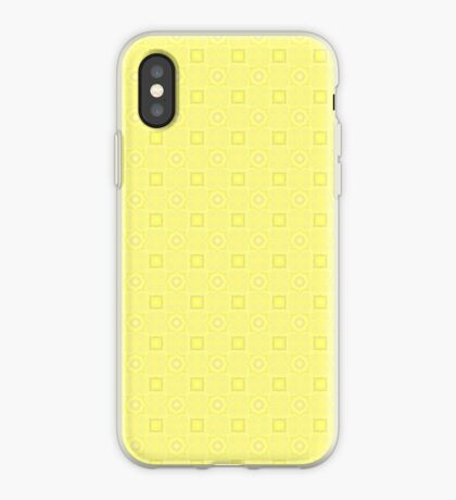 Pale Yellow Design by Julie Evehart iPhone Case