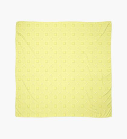 Pale Yellow Design by Julie Evehart Scarf