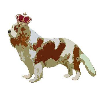 Cavalier King Charles Dog by jesselego