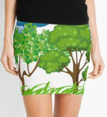 Respect Nature Mini Skirt