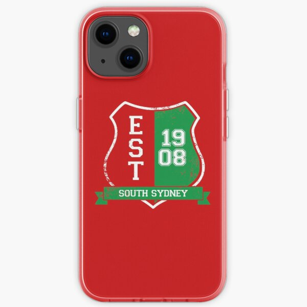 South Sydney Rugby League: Established Shield iPhone Soft Case