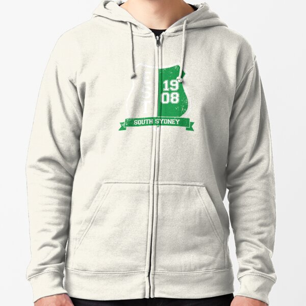 South Sydney Rugby League: Established Shield Zipped Hoodie