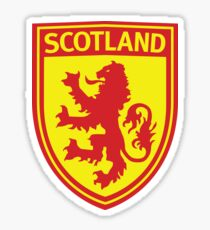 Scotland Sheild Sticker