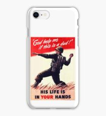 WWII Poster iPhone Case/Skin