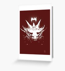 King Under the Mountain - Team Smaug Greeting Card