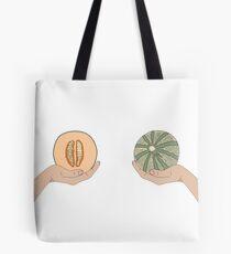 Melon boobs Tote Bag