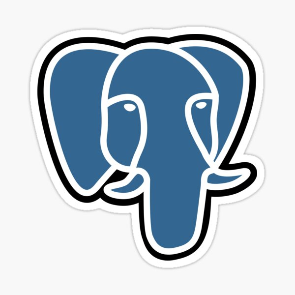 PostgreSQL Sticker