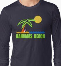 Bahamas Paradise Beach TShirt Bahamas Beach Sun Sand T-Shirt Long Sleeve T-Shirt