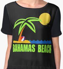 Bahamas Paradise Beach TShirt Bahamas Beach Sun Sand T-Shirt Chiffon Top