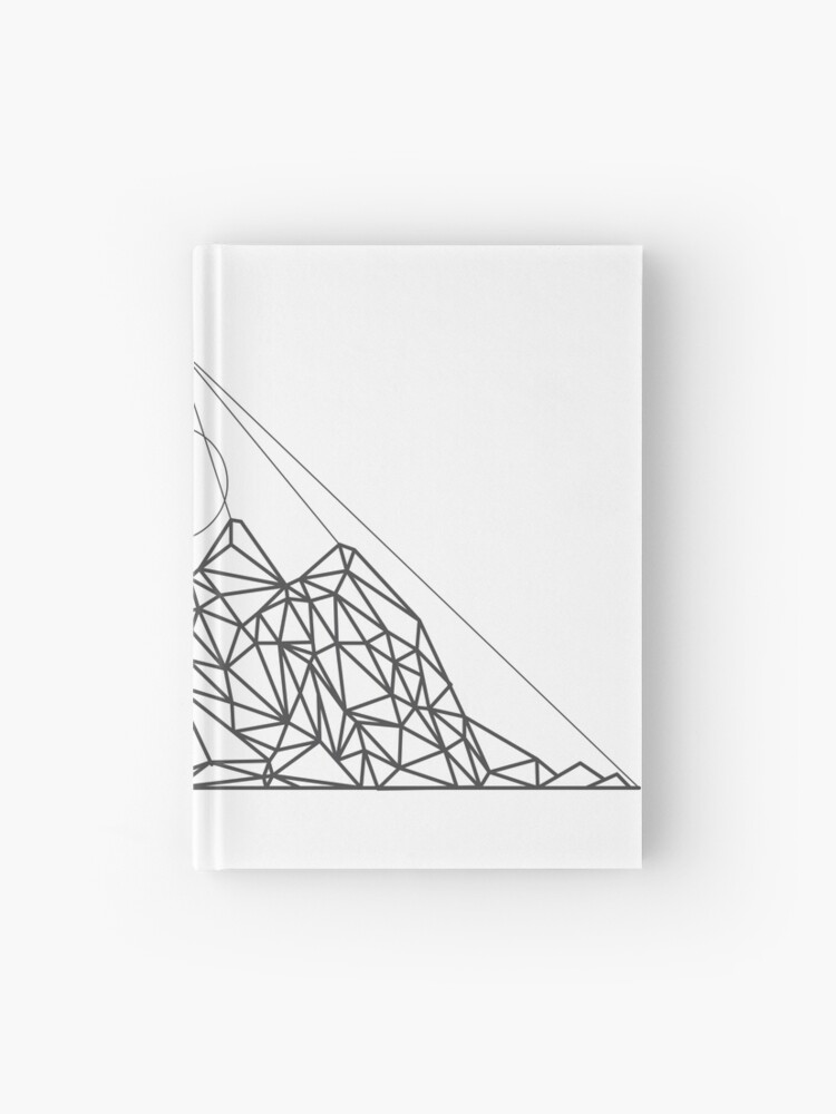 Simple Poly Art Drawing
