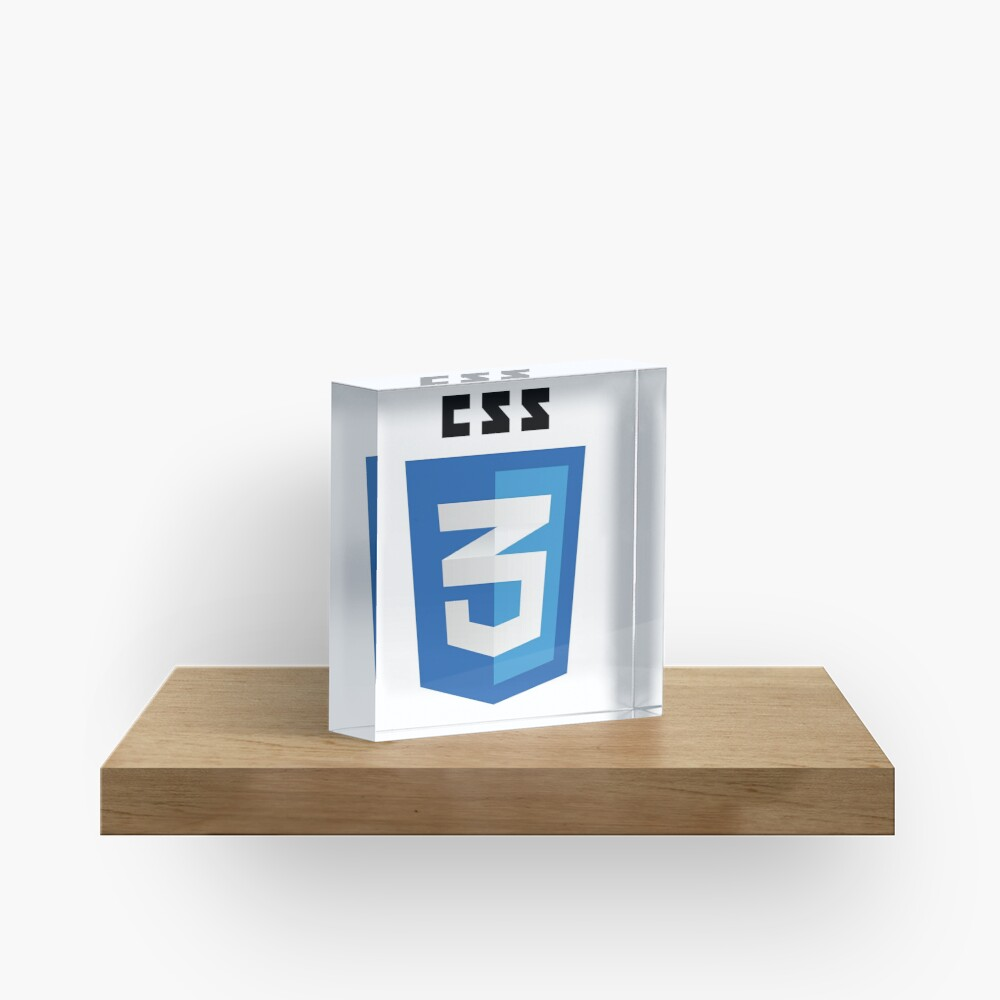 CSS 3 - Cascading Stylesheets 3 Acrylic Block