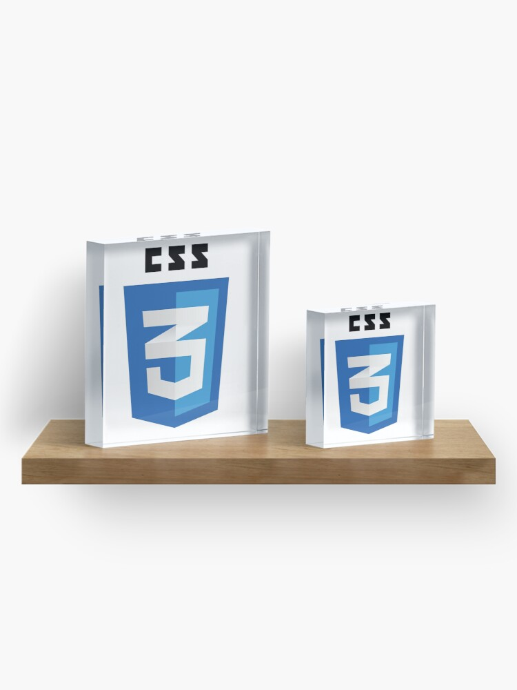 Alternate view of CSS 3 - Cascading Stylesheets 3 Acrylic Block