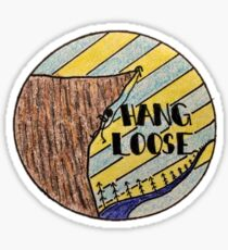 HANG LOOSE CLIMBING Sticker
