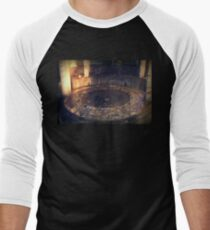 Battery Mishler Gun Emplacement Men's Baseball ¾ T-Shirt