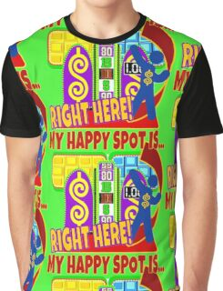 Game Show - TPIR (The Price Is...) My Happy Spot Graphic T-Shirt