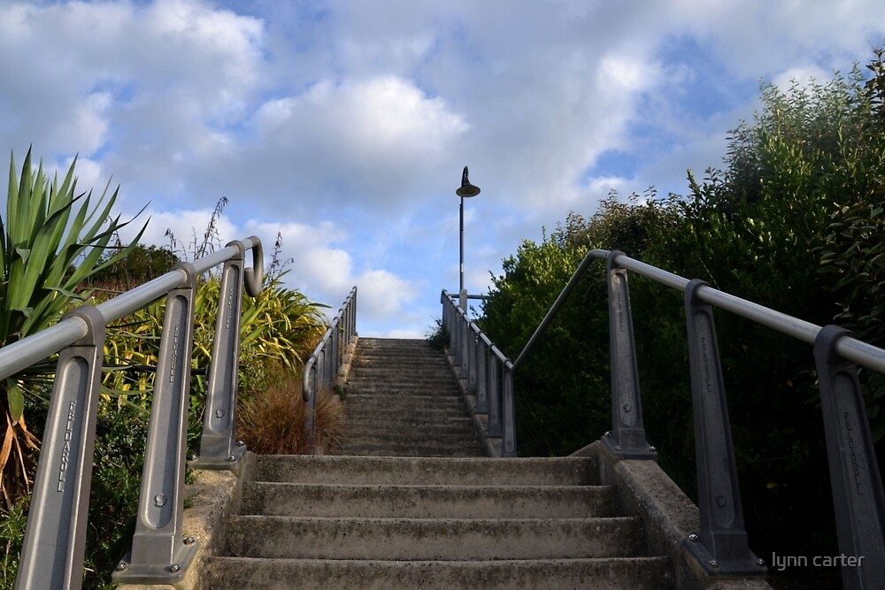Up The  Steps by lynn carter