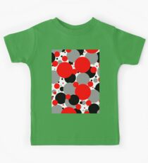 Red Polka Dots Kids Tee