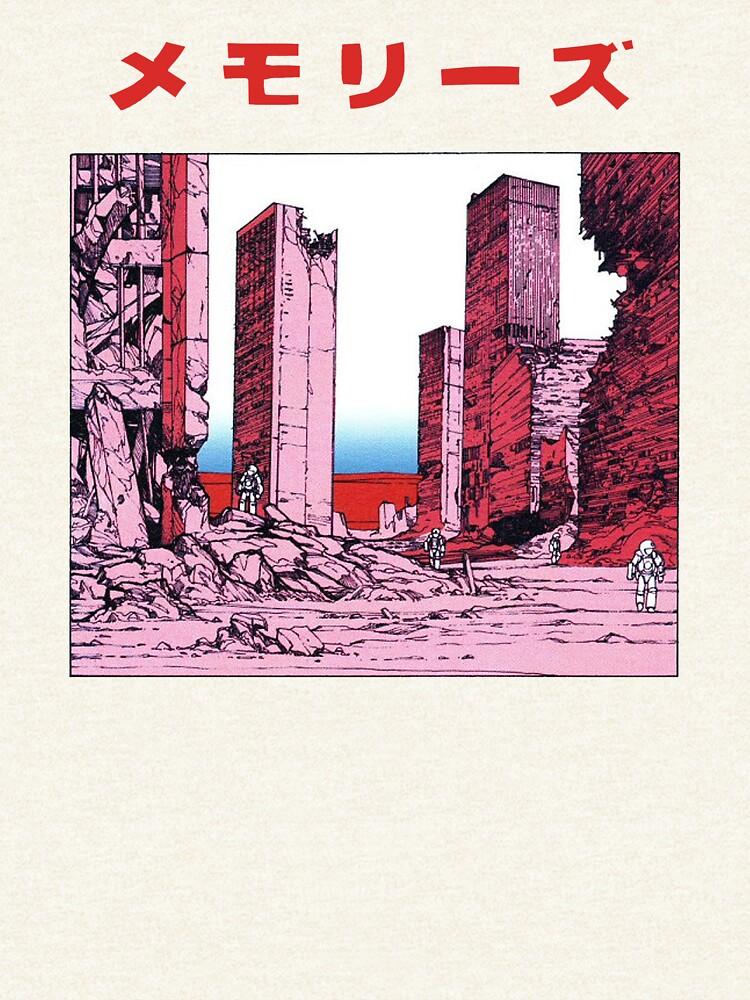 Katsuhiro Otomo - Memories by winkatawink