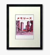 Katsuhiro Otomo - Memories Framed Print