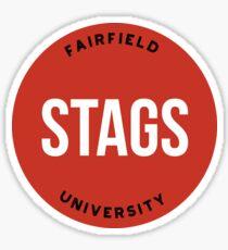 Fairfield University - Style 20 Sticker