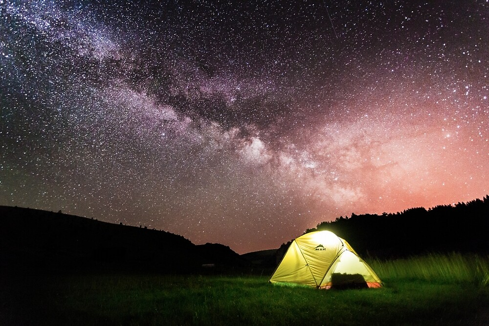 Wild Camping under the Milky Way in Uvav Canyon, Serbia by Cabot Trail Pathfinders