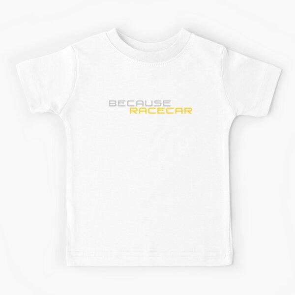 Parce que Racecar (version jaune et gris) T-shirt enfant
