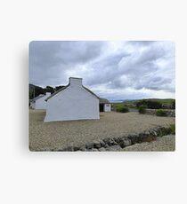 Traditional Irish Cottages Canvas Print