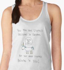 Believing in Unicorns Women's Tank Top