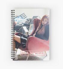 rose blakcpink stay Spiral Notebook