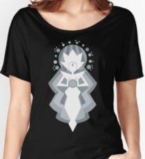 White Diamond Women's Relaxed Fit T-Shirt