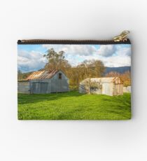 Old Farm Sheds In The Valley..... Studio Pouch