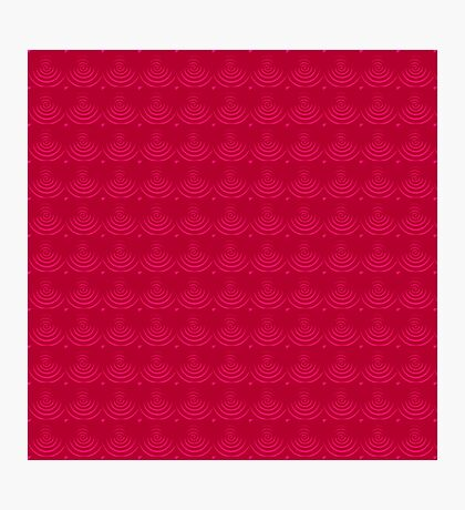 Magenta Red Photographic Print