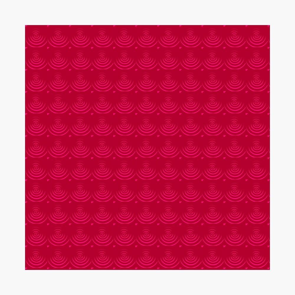 Magenta Red Photographic Print